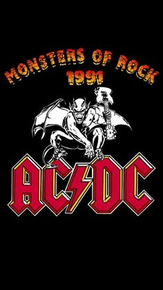 AC/DC, Monsters of Rock 1991⚡️⚡️