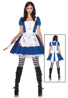 American Mcgee Alice costume. It would be awesome to rock this on Halloween.