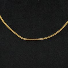 18 inches 2 mm 22kt Solid Gold Chain Necklace For men women   Etsy Thin Gold Chain, Gold Chains, Silver Chain Necklace, Men Necklace, Wedding Anniversary Gifts, Gold Style, Photo Jewelry, Handmade Silver, Women's Earrings