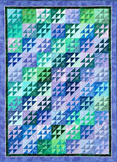 Joen Wolfrom's Playing with Color: Stretching the Analogous Range ...  I have been collecting fabric to make this....someday!