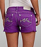 Miss Me Jeans Cross-Pocket Cut-Off Shorts   Dillards.com