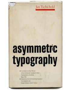 Jan Tschichold - Asymmetric Typography