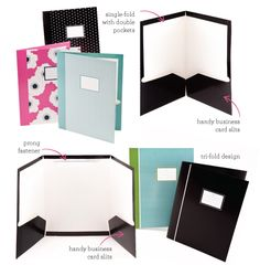 stylish presentations proposals look into getting some cute stylish folders like these to give