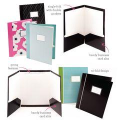 creative presentation folder designs presentación de proyectos en