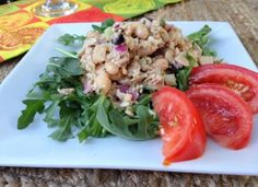 Greek Tuna Salad..... A Mediterranean Twist of a Classic Lunch Favorite, By:  Southern Girl Eats Clean