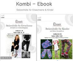 Fadenkäfer - Kombi Ebook Stelzenhülle Erwachsene, Schwangere und Kinder