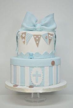 45 mejores ideas de Bautismo de niño Baby Boy Cakes, Cakes For Boys, Baby Shower Cakes, Baby Boy Shower, Christening Cake Designs, Christening Cake Boy, Christening Cakes, Baptism Party, Boy Baptism