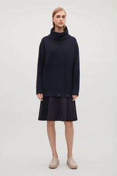 93efa0b3844 Картинки по запросу cos dress with detachable skirt Wool Dress