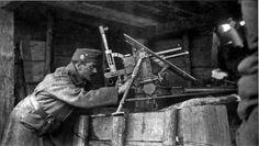 cm Infanteriegeschütz Škoda 'Austro-Hungarian trench cannon on the position , 1916 Austro Hungarian, Troops, Soldiers, Wwi, Austria, Concert, Grenades, Sailors, Firearms