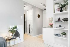 Small Scandinavian Apartment With Open and Airy Design 13