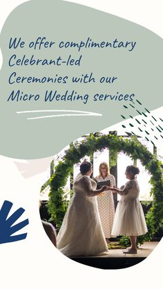 If you are looking for a Micro Wedding and requiring a Celebrant Led Ceremony, then get in touch with us today.    We offer complimentary celebrant-led ceremonies with every micro wedding service booked with us in 2020.    Why do we offer this? We have seen the impact that COVID has had on your wedding days this year and that has likely forced you into changing your plans and we would like to just give back a little to help you get the most from your budget.  We cover London and Home… Giving Back, Just Giving, On Your Wedding Day, Budgeting, Touch, Led, London, How To Plan, Weddings
