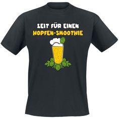 Zeit für einen Hopfen-Smoothie  T-Shirt  »Zeit für einen Hopfen-Smoothie« | Jetzt bei EMP kaufen | Mehr Fun-Merch  T-Shirts  online verfügbar ✓ Unschlagbar günstig!