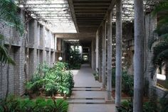 IIM-Bangalore Pergola