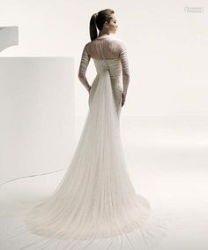 Cross Bust Lace Mermaid Gown
