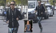 Bride-to-be Pippa Middleton, 33, was spotted running through the streets of London this morning as she continued her rigorous pre-wedding workout regime ahead of the big day on May 20.
