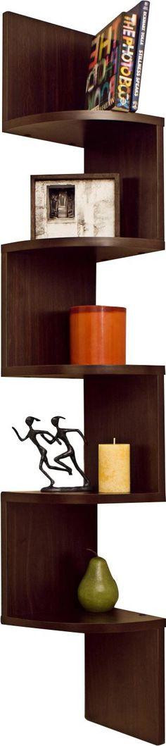die besten 25 eckregal zickzack ideen auf pinterest shabby chic holzb den eckregal h ngend. Black Bedroom Furniture Sets. Home Design Ideas