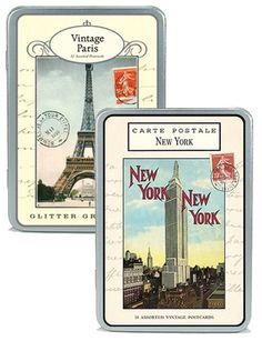 Cavallini Postcards, Assorted