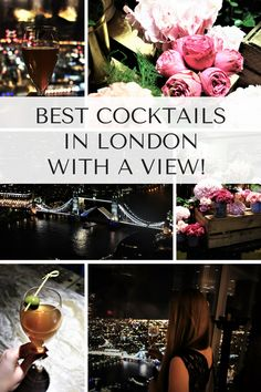 Cocktails at GONG bar The Shard - Best Cocktail Bars in London
