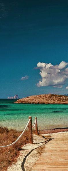 Ses Illetes beach, Formentera island, Spain