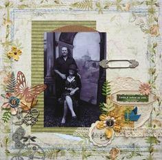 Klikněte pro zobrazení původního (velkého) obrázku My Scrapbook, Scrapbook Paper Crafts, Scrapbooking, Frame, Painting, Home Decor, Art, Homemade Home Decor, Painting Art