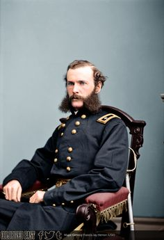 Major General Francis Jay Herron (USV) Francis Jay Herron was born in Pittsburgh, Pennsylvania on 17 February He attended the Western University of. Army Uniform, Military Uniforms, Union Army, Major General, Military Pictures, America Civil War, Civil War Photos, Native American History, American Revolution