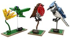 De vogels van Tom Poulsom zijn nu te koop als LEGO-set