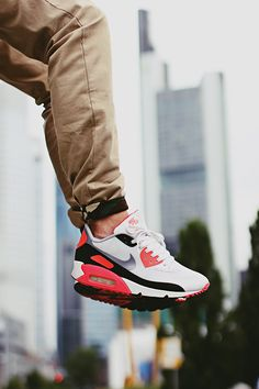 finest selection 1edd3 853fe Sported the same pair of shoes with the pant legs rolled at the bottom 20  years. Nike Air Max ...