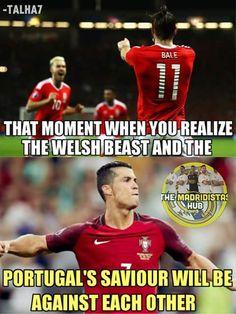 Wales vs Portugal!