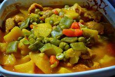 El rincón de Ginger: Estofado de verduras y soja