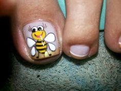Decoraciones Grace Pedicure Designs, Nail Designs, Pedicure Ideas, Toe Nails, Enamel, Valencia, Short Nails, Pedicures, Butterflies