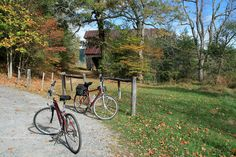 Biking in Cades Cove is a great outdoor activity for friends and family!