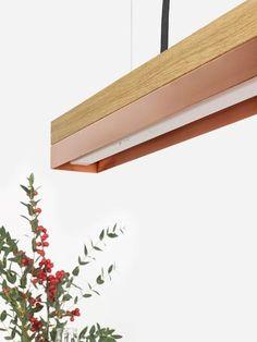 jetzt mal klassisch: #eiche & #kupfer. #design #interiordesign #einrichtung #lampen #lamps #light #licht #metal #copper #industrial #gantlights