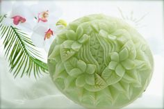 Honeydew Melon carved by pan*