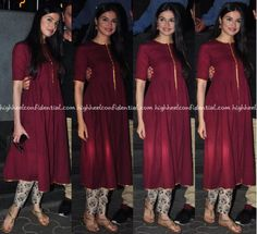 divya-khosla-kumar-at-dangal-screening