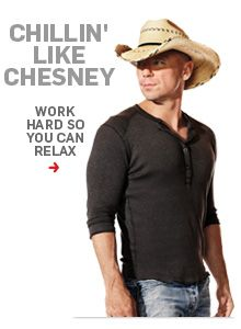 Work hard to play hard. Follow June cover star Kenny Chesney's plan here.