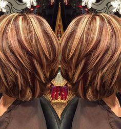 Diese Damen haben eine schöne kurze Frisur mit dezenten Highlights ausgewählt! - kurzhaarfrisuren Frauen