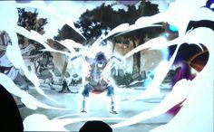 The Legendo of Korra: Book 2 - Spirits - San Diego Comic Con 2013. Wan, the first Avatar