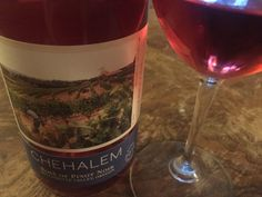 The Chehalem 2014 Rosé is full of delicious fruit flavors, and bright acidity. This winery knows how to make a fantastic Rosé, that's for sure. Cheers!