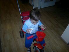 N8PictureADay #37 - The kid and the trike