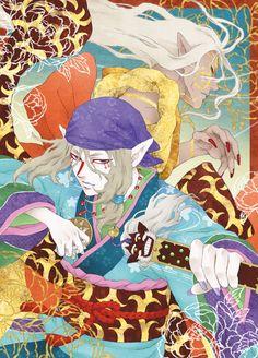 Kusuriuri Fanart - Mononoke Mononoke Anime, Mononoke Cosplay, Cartoon As Anime, Anime Manga, Anime Art, Anime Kunst, Ghibli Movies, Fan Art, Manga Games