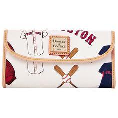 Dooney & Bourke Boston Red Sox Women's Continental Clutch