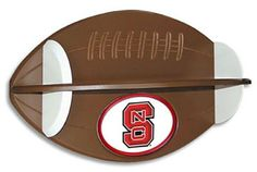 NCSU Football Shelf