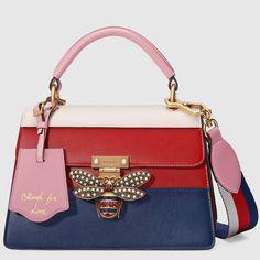 Queen Margaret leather top handle bag