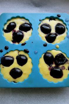 retete cu cirese pentru copii, briose pentru copii, briose cu cirese Muffin, Breakfast, Food, Bebe, Morning Coffee, Essen, Muffins, Meals, Cupcakes