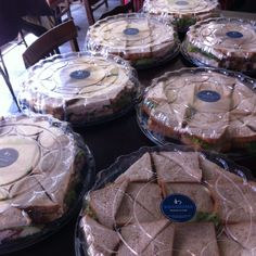 Our HUGE sandwiches are great for office meetings and parties...