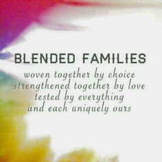 Secrets to a Blended Family! Autie and I do our best and ...