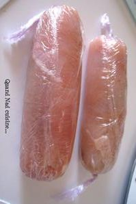 Blancs de poulet panés farcis au chorizo - Quand Nad cuisine...