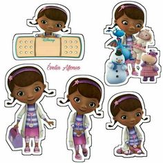 Doc mcstuffins Birthday Party Snacks, Birthday Party For Teens, Frozen Birthday Party, Mom Birthday Gift, 2nd Birthday, Birthday Ideas, Doc Mcstuffins Birthday Cake, Royal Icing Templates, Minnie Mouse Party