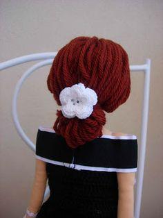dolls hair tutorial