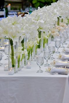 321 best classic white and green flowers images on pinterest in 2018 casablanca lilies tall centerpieces my favorite flower mightylinksfo